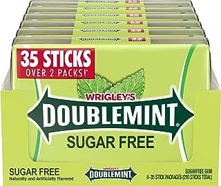 DOUBLEMINT Gum 35 stick SugarFree MegaPack 4.7 oz. (Pack of 6), 87 ounces
