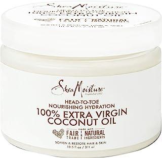 SheaMoisture 100% Pure Coconut Oil Moisturizer, 10.5 Fluid Ounce