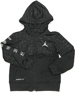 Jordan Toddler Boys Full-Zip Therma-Fit Hoodie Black 4T