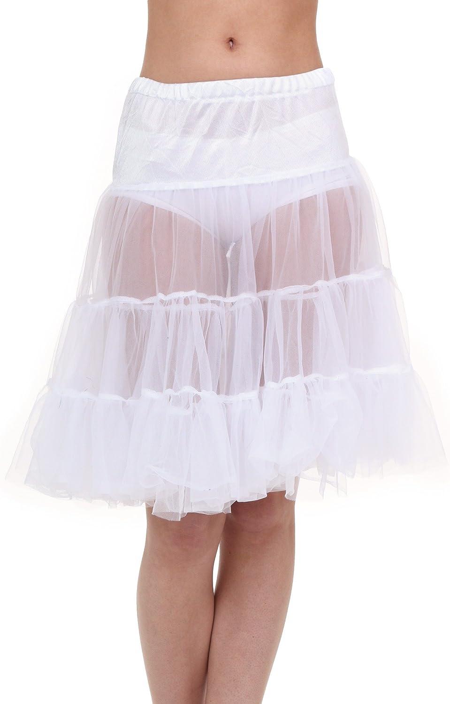 Fun Costumes Plus Size White Knee Length Crinoline