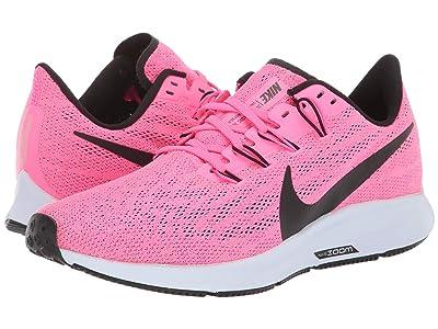 Nike Air Zoom Pegasus 36 (Hyper Pink/Black/Half Blue) Women