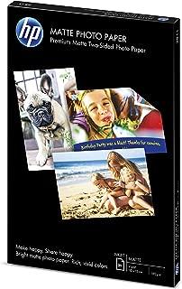 HP Matte Photo Paper   4x6   25 Sheets