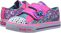 SKECHERS KIDS - Shuffles - Princess Paw 10918N Lights (Toddler/Little Kid)