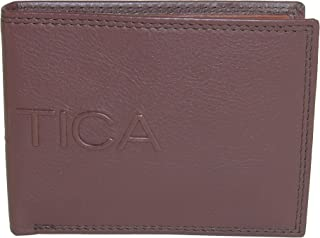 Nautica Mens Wallet, Card Case & Money Organizer, Cognac, 14 31NU130015