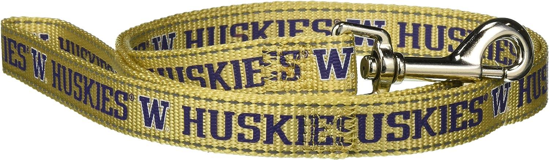 Pet Goods Manufacturing NCAA Washington Huskies Dog Lead, Medium
