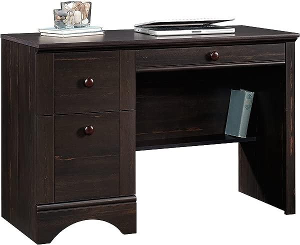 Sauder 418942 Harbor View Computer Desk L 43 47 X W 19 45 X H 28 98 Antiqued Paint Finish