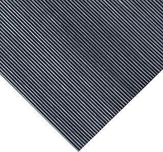 Rubber-Cal 03_168_W_FR_06 Fine Rib Corrugated Rubber Mats, 1/8