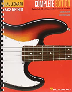 Hal Leonard Bass Method: Complete Edition (Second Edition): Contains Books 1,2, and 3