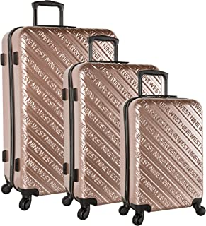 Ninewest Luggage 3 Piece Hardside Spinner Luggage Set