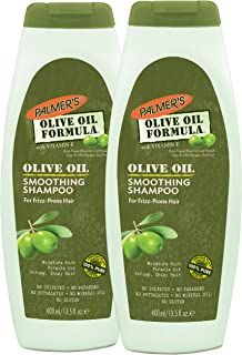 Palmer's Olive Oil Formula Smoothing Shampoo for Frizz-Prone Hair, 13.5 Ounce (Pack of 2)