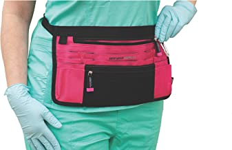 Trustee Antimicrobial Hip Pouch- Pink for Nurses, Home Health and Medical Professionals - Hands Free Nurse Fanny Pack