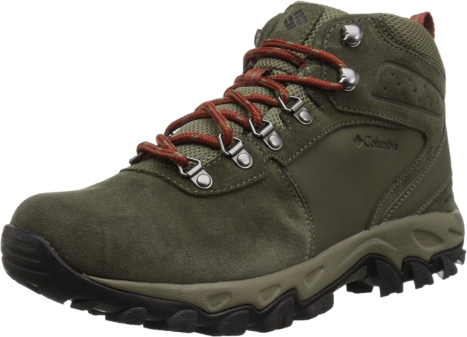 Columbia Mens Newton RidgeTM Plus Ii Suede Waterproof Hiking shoes