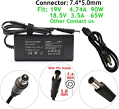 45W/65W/90W AC Adapter Charger for HP Compaq Presario 2210B 2510P CQ56-115DX CQ60-210US CQ60-211DX CQ60-215DX CQ60-216DX CQ60-419WM CQ60-615DX CQ61-100 CQ61-200,PA-1900-18H2 PPP009H Power Cord