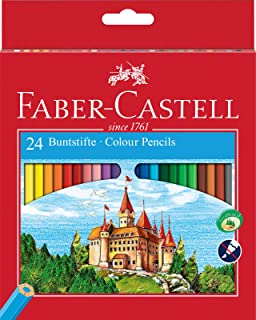 Faber-Castell 24-Colour Eco-Pencils