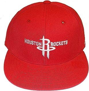 fdce49c6 adidas Houston Rockets Womens Flat Brim Flex Hat - OSFA