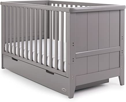 Obaby Belton Cot Bed  Taupe Grey
