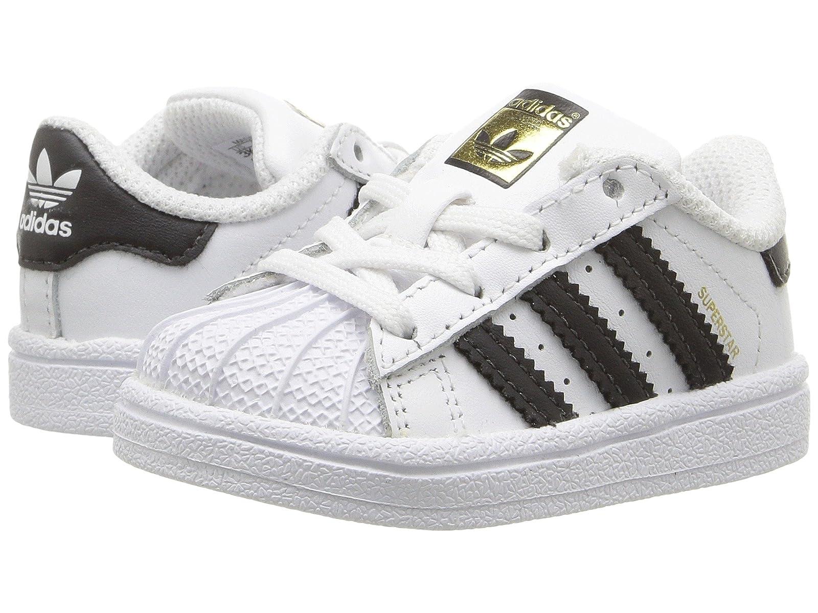adidas Originals Kids Superstar (Infant/Toddler)Atmospheric grades have affordable shoes