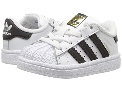 adidas Originals Kids Superstar (Infant/Toddler) (White/Black) Kids Shoes