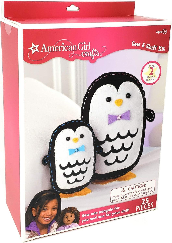 American Girl Crafts Sew e Stuff Kit, Penguins