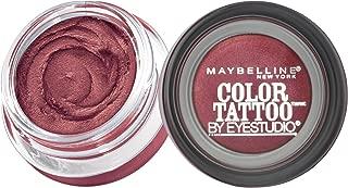 Maybelline New York Eyestudio ColorTattoo Metal 24HR Cream Gel Eyeshadow, Pomegranate Pink, 0.14 Ounce (1 Count)