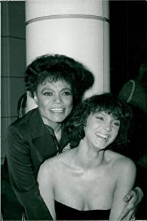 Vintage photo of Eartha Kitt with her daughter Kitt at the nightclub