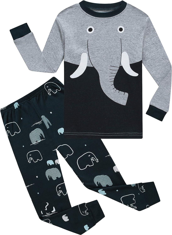 Little Big Boys Pajamas 100% Cotton Kids Pjs Sets