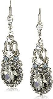 Sorrelli Double Loop Crystal Stardust Drop Earrings