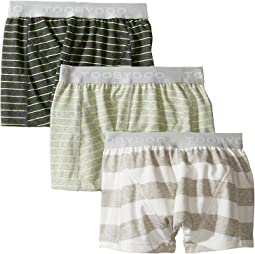 Multi Green Underwear 3-Pack (Infant/Toddler/Little Kids/Big Kids)