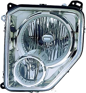 Depo 333-1186R-ASF Jeep Liberty Right Hand Side Head Lamp Assembly