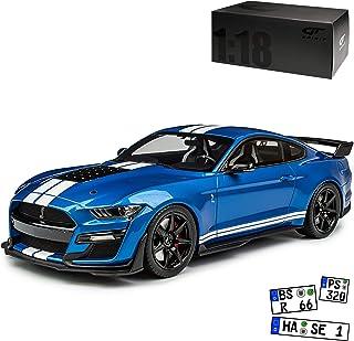 1//43 Ford Mustang GT Sportwagen Die Cast Modellauto Spielzeug Rot Geschenk