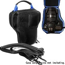 WGear DSLR Camera Lens kit Semi Hard Case for Canon EOS 7D 6D 5D Mark II III IV 5DS R EF 24-105mm f/4 F4 L is USM EF 24-70mm f/2.8L II USM DSLR Lens Kit, Strong, Removal Padding, Hand/Shoulder Strap