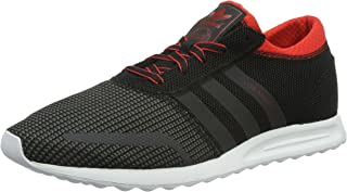 adidas Men's Los Angeles, Black/RED/White
