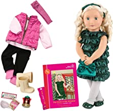 Our Generation Audrey Ann-Deluxe Christmas Doll with Book 18