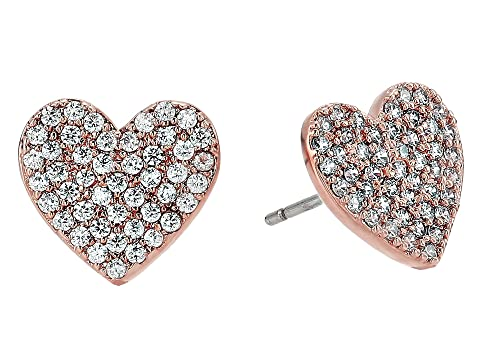 765b90c24 Shoptagr   Yours Truly Pave Heart Stud Earrings by Kate Spade New York