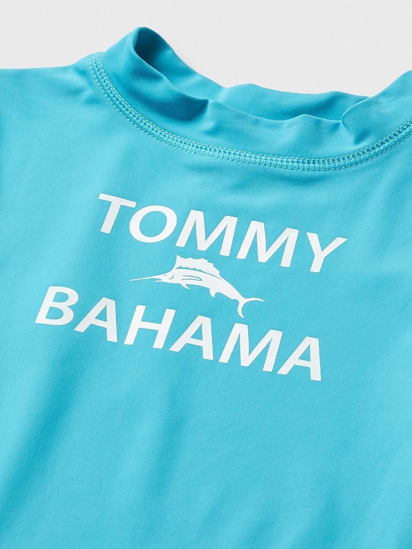 Tommy Bahama Boys Rashguard and Trunks Swimsuit Set