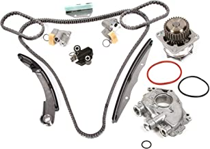 Evergreen TK3042WOPT Timing Chain Kit, Oil Pump, and Water Pump Fits: 05-10 Nissan Frontier Pathfinder Xterra 4.0L DOHC VQ40DE