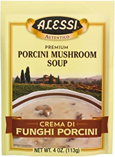 Alessi Porcini Mushroom Soup, 4 Ounce (Pack of 6)