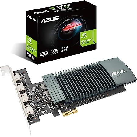 GT710-SL-1GD5-BRK ASUS GeForce GT 710 1GB GDDR5 HDMI VGA DVI Graphics Card