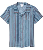 Icon Stripe Button-Down Shirt (Toddler/Little Kids/Big Kids)