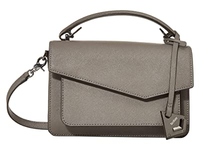 Botkier Cobble Hill Crossbody (Smoke) Cross Body Handbags