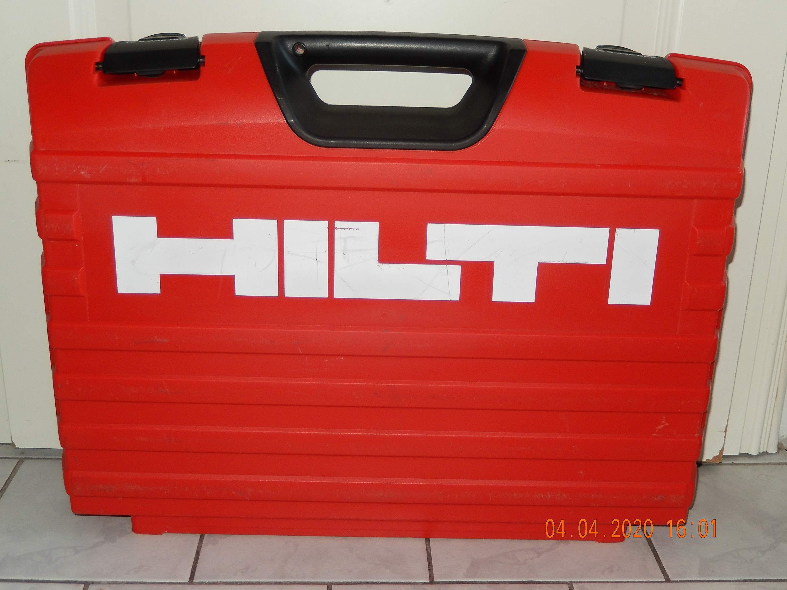 Hilti TE6-A36 DSR - Maletín vacío para taladro inalámbrico HILTI TE6-A36 DSR, LI-ION: Amazon.es: Bricolaje y herramientas