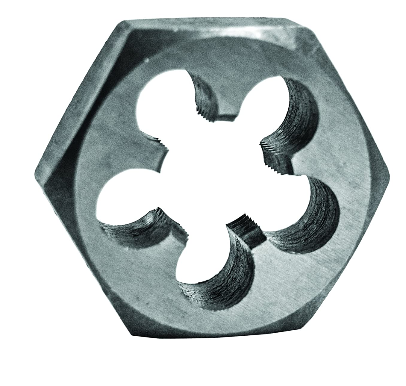 Century Drill & Tool 98213 High Carbon Steel Fractional Hexagon Die, 5/8-11 NC