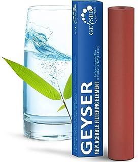 Cartouche Aragon pour filtre de robinet Geyser Euro, remplacement du filtre Geyser Euro.