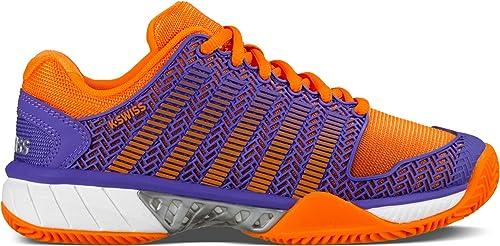 K-Swiss - - - Hypercourt Express HB Femmes Chaussure de Tennis (Pourpre Orange) 9dc