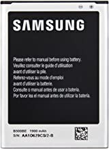 Genuine Samsung Galaxy S4 Mini i9192 i9190 OEM 1900mAh Battery B500BU (Not compatible with S4 Zoom, S4 or S4 Active - ONLY FOR S4 MINI) In Non-Retail Pack
