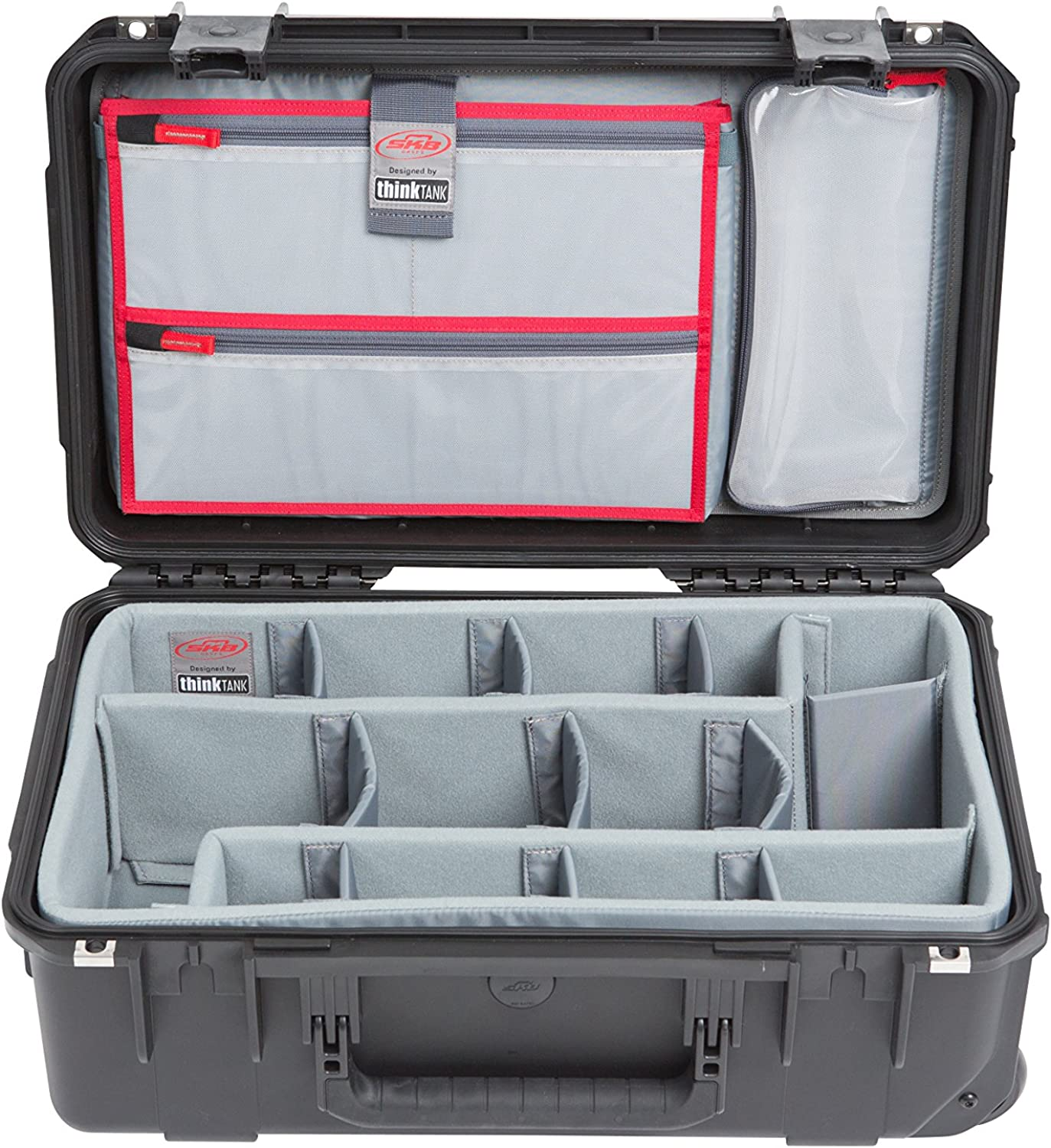 SKB 3i-2011-7DL iSeries Case with Think Tank Photo Dividers, Black
