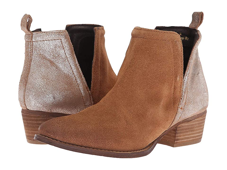 Diba True Stop By (Whiskey/Cognac Suede/Leather) Women