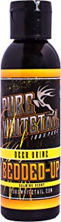 Pure Whitetail Bedded-Up Natural Calming Scent – Liquid – Bedding Area and Deer Herd Attractant and Cover Scent