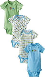 Baby Boys' 4 Pack Onesies