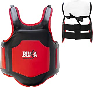 BUKA Boxing Chest Guard MMA Punching Mitts Mixed Martial Arts Body Protector Armour